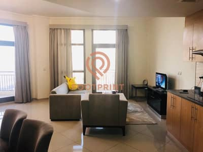 1BR- Spacious - Fully Furnished- 934 Sq. Ft- Balconies