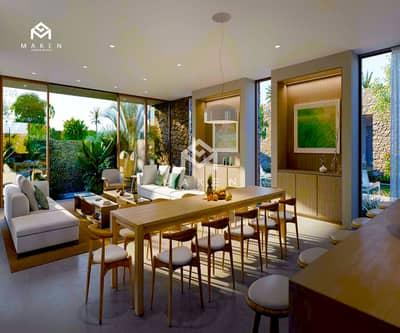 Villa on the sea in Abu Dhabi