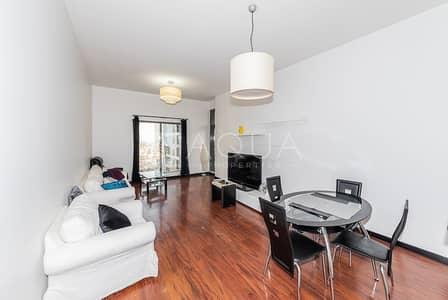 فلیٹ 1 غرفة نوم للايجار في أبراج بحيرات الجميرا، دبي - Vacant Now | Full Lake View | High Floor