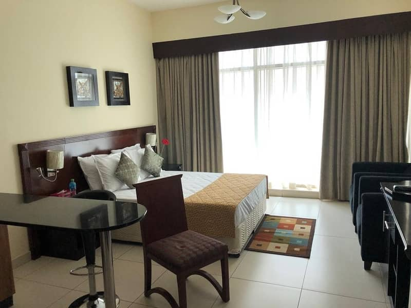 2 3500/Month - All Inclusive - Furnished Studio