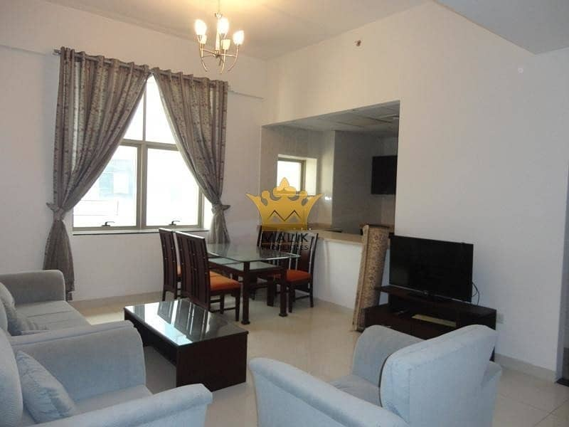 Furnished 2 BHK - 12 Cheques - 1 Month Free