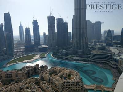 فلیٹ 2 غرفة نوم للبيع في وسط مدينة دبي، دبي - 2 beds | Burj and fountain view | the address downtown