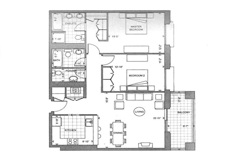 10 2 Bedrooms | Chiller Free | Pool and Gym
