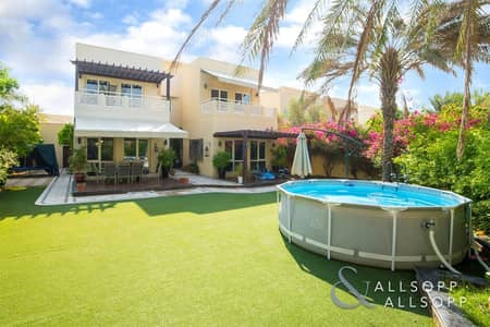 4 Bedroom Villa for Sale in The Meadows, Dubai - Upgraded | Type 6 | Large Plot | City View