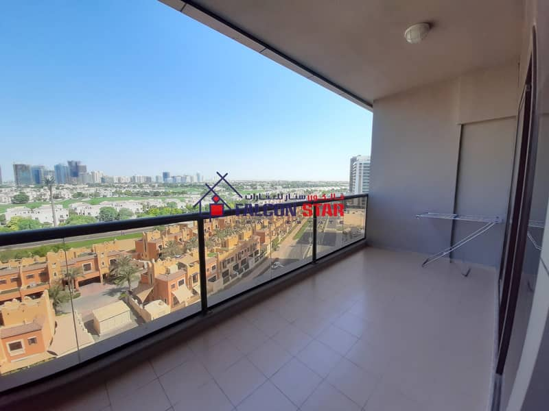 2 Full golf view | Fully furnished like brand new | Private Balcony