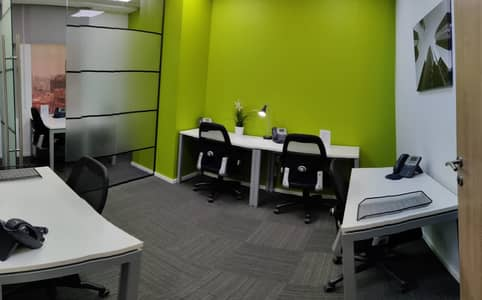 Office for Rent in Corniche Ajman, Ajman - Fully-Furnished Offices with business lounge available in Ajman Corniche