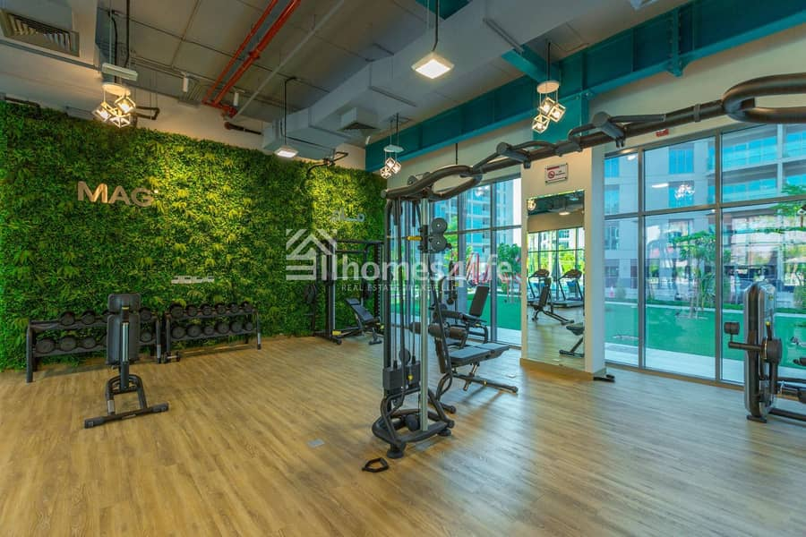 11 Largest Studio in DS with Garden View