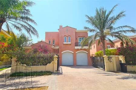 6 Bedroom Villa for Sale in Arabian Ranches, Dubai - Fully upgraded | 5 Bed/ Drivers Room | Pool Facing