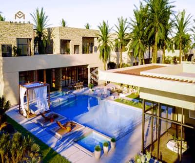 3 Bedroom Villa for Sale in Al Jurf, Abu Dhabi - villa for sale inside a maeine views reserve installments of 8 years