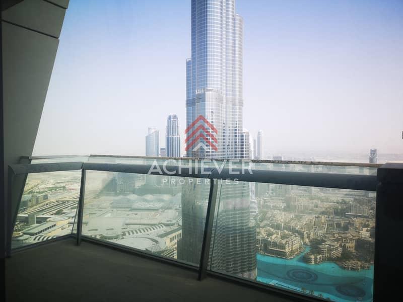 2 Vacant Oct | Full Burj View | 2 Balconies