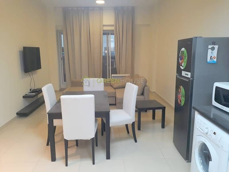 Chiller Free Building | Fully Furnished 1 B/R Apt.
