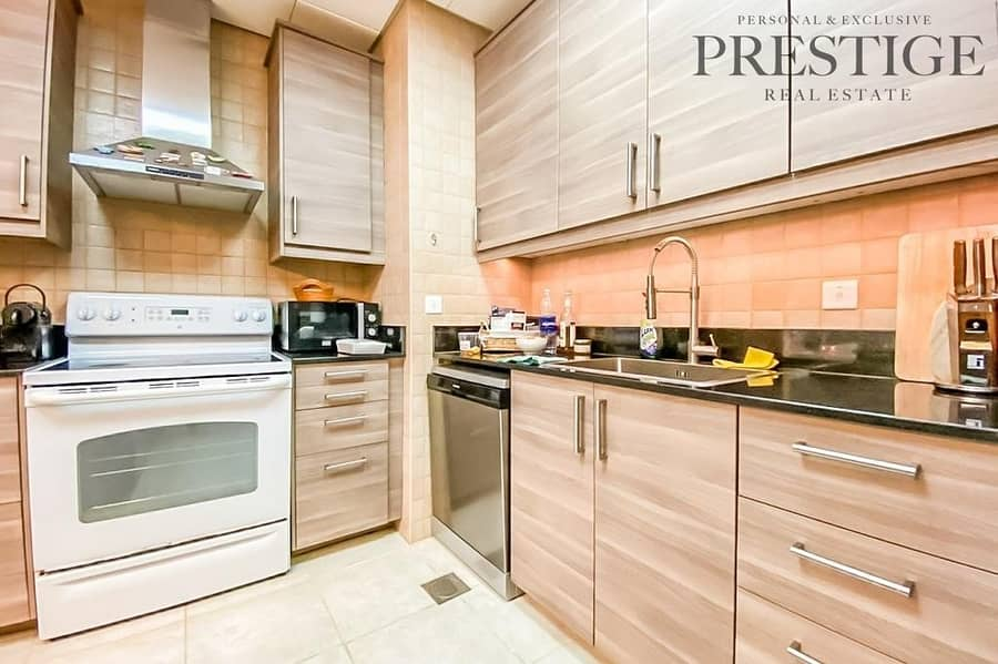 2 Covered Patio | 1 Bed | Upgraded Kitchen