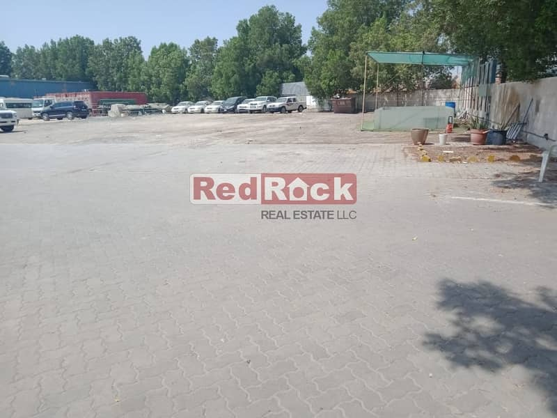 Ideal for Car detailing /garage 46600 Sqf Land with W/H in Al Quoz