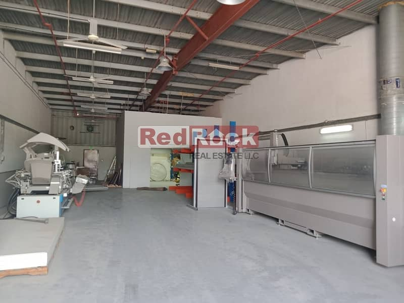 2 Ideal for Car detailing /garage 46600 Sqf Land with W/H in Al Quoz
