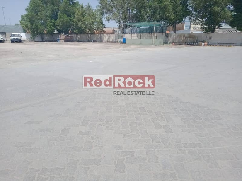 8 Ideal for Car detailing /garage 46600 Sqf Land with W/H in Al Quoz