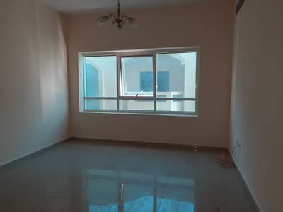 1 Bedroom Apartment for Rent in Al Qasimia, Sharjah - luxury one bed room hall with two bath room Australian kitchen one month free only in 17000