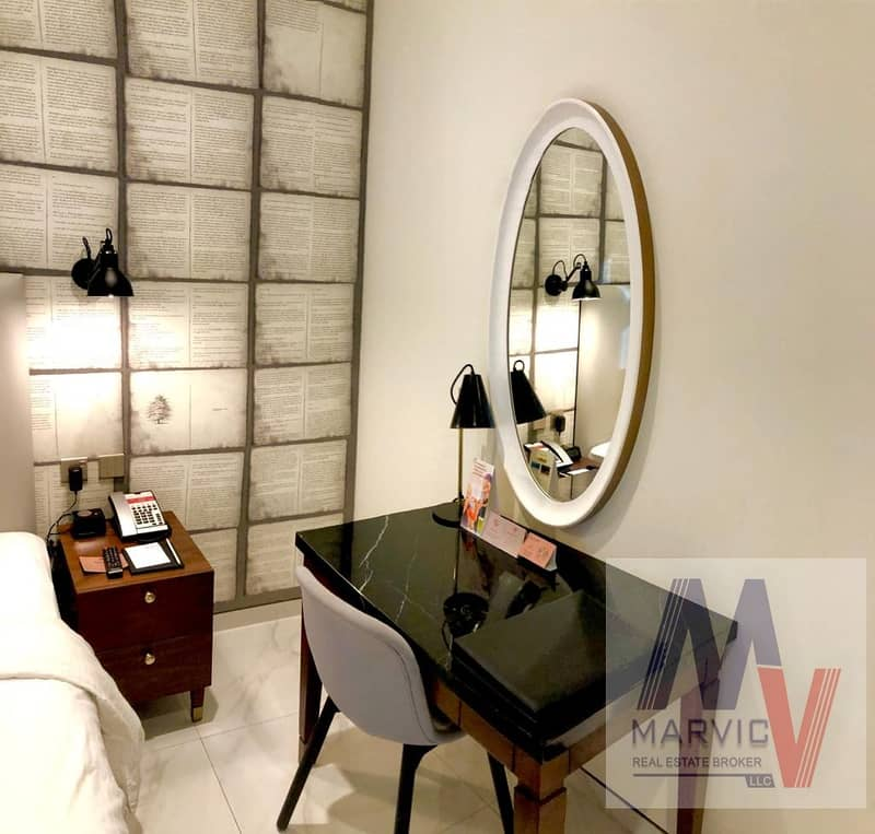 1 Dream 1 br/Luxurious Furnished/With All Bills/Marble Bathroom