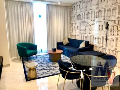 2 Bedroom Hotel Apartment for Rent in Business Bay, Dubai - The Most Beautiful 2 br/Luxurious Furnished/With All Bills