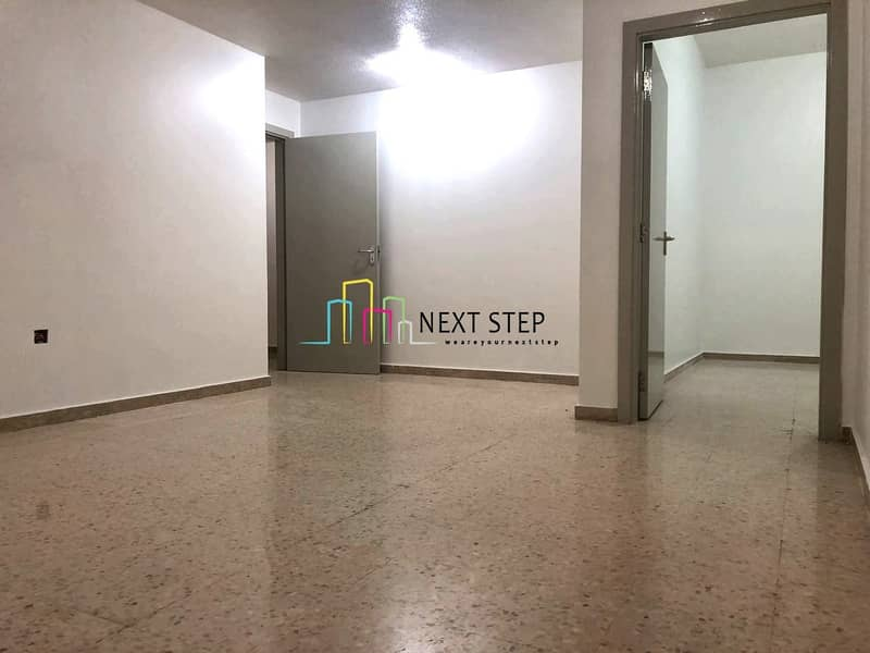 2 Spacious 3 Bedroom Apartment with Maids Room