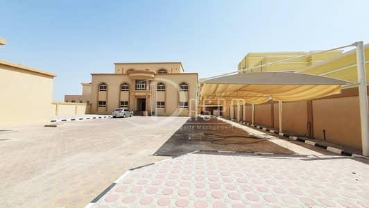 11 Bedroom Villa for Rent in Shakhbout City (Khalifa City B), Abu Dhabi - 11 BEDS STANDALONE + DRIVER & MAJLIS OUTSIDE 250K
