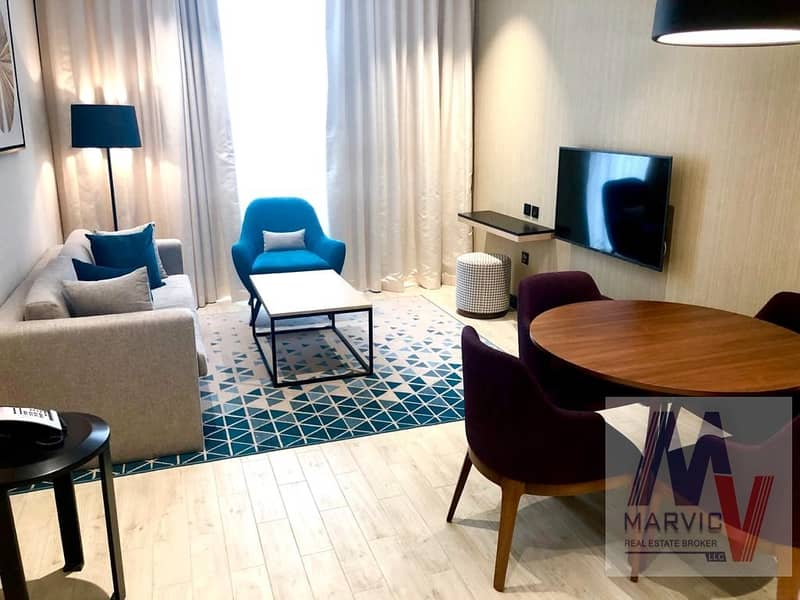 2 br/Luxurious/Furnished/With All Bills/Brand New
