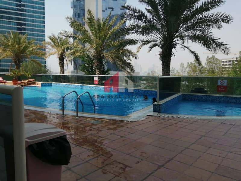 12 Large size 02 bedrooms for rent in Lakeshore tower JLT