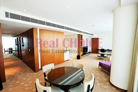 2 Bedroom Hotel Apartment for Rent in Dubai Festival City, Dubai - No Comm| Serviced |All Bills Included| City View