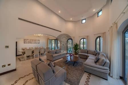4 Bedroom Villa for Sale in Palm Jumeirah, Dubai - FURNISHED 4 BR VILLA IN GARDEN HOMES FROND K