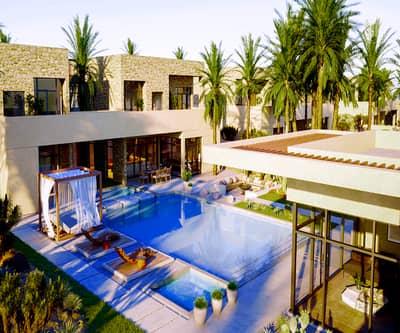 فیلا 4 غرف نوم للبيع في الجرف، أبوظبي - فيلا للبيع علي أجمل سواحل الامارات داخل محمية طبيعية بأبو ظبي بالتقسيط علي7 سنوات