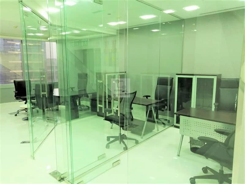 9 Rented @ 90K | Furnished office | 8 Gross ROI