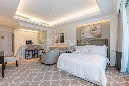 Hotel Apartment for Rent in Downtown Dubai, Dubai - Luxury Furnished Serviced Studio All Inclusive