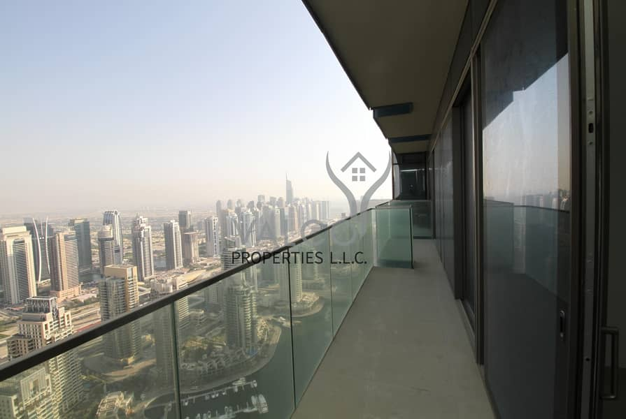 2 Unfurnished 2BR | Full Marina View | High Floor