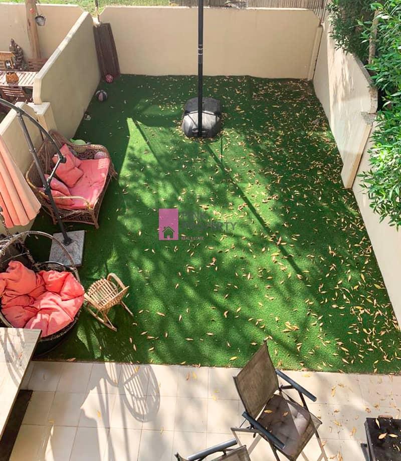2 Single row big garden 2bed villa FOR SALE