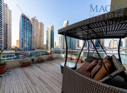 3 Bedroom Flat for Sale in Dubai Marina, Dubai - Bespoke Apartment | Elegantly Upgraded | Furnished