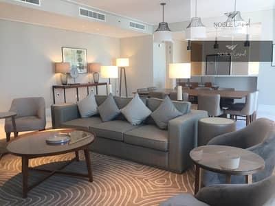 شقة فندقية 4 غرف نوم للايجار في وسط مدينة دبي، دبي - Luxury | Fully-furnished | Stunning View