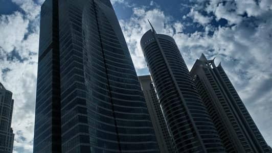 مکتب  للايجار في أبراج بحيرات الجميرا، دبي - Fitted office in X3 Middle Floor for 45k