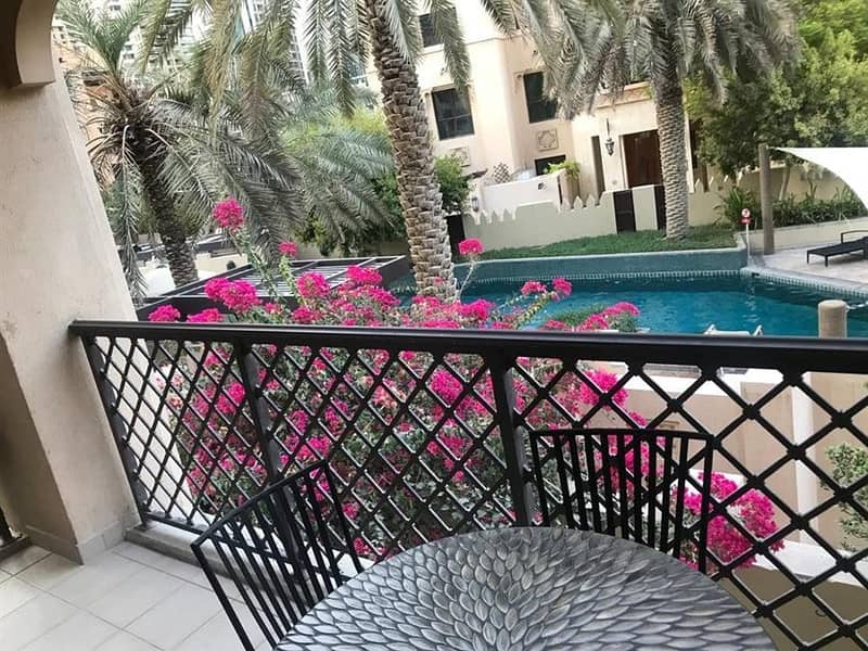 2 Old Town 2 br Pool View Zanzebeel 2 for 125k