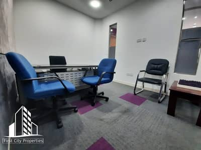 Office for Rent in Al Danah, Abu Dhabi - Business Centre in an Accessible Location
