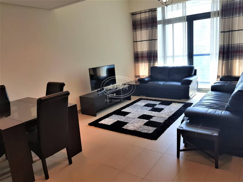 2 Amazing Furnished 1 BR with Full Lake View