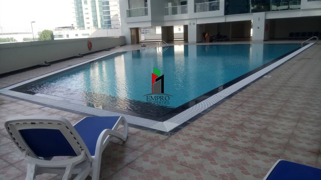 Spacious Furnished 2 BHK | Pool View