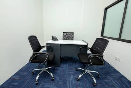 Office for Rent in Deira, Dubai - AED 2,000/- Monthly Price, Well Furnished Offices, No Commission, Free assistance.