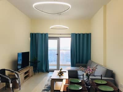 1 Bedroom Flat for Rent in Al Furjan, Dubai - Brand new Fully Furnished 1 BR including all Fee's.