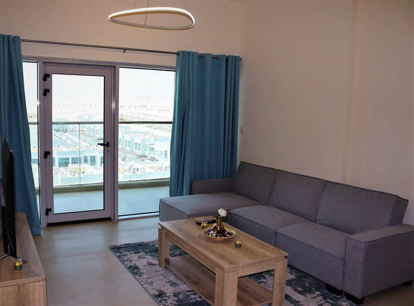 2 Brand new Fully Furnished 1 BR including all Fee's.