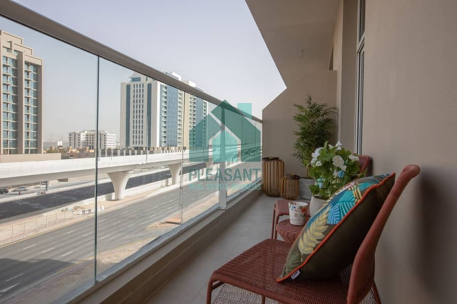 15 Pay 10%|2BED Al Furjan|Near Metro|Handover 3 Months