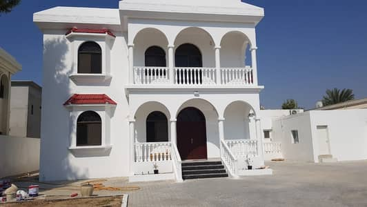 4 Bedroom Villa for Rent in Al Goaz, Sharjah - *** AMAZING DEAL – Spacious 4BHK Duplex Villa with Private pool available in Al Goaz, Sharjah