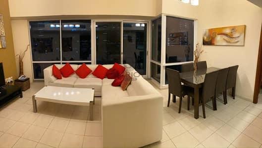 فلیٹ 2 غرفة نوم للايجار في أبراج بحيرات الجميرا، دبي - LAVISH European  STYLE  TWO BEDROOM apartment in LAKE TERRACE