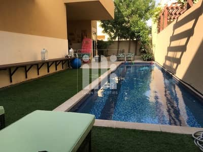 4 Bedroom Villa for Sale in Al Raha Gardens, Abu Dhabi - Superb 4BR Modified| Corner Villa| Big size