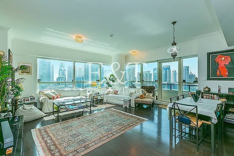 2 Exclusive: Best Floor Plan with Full Marina View