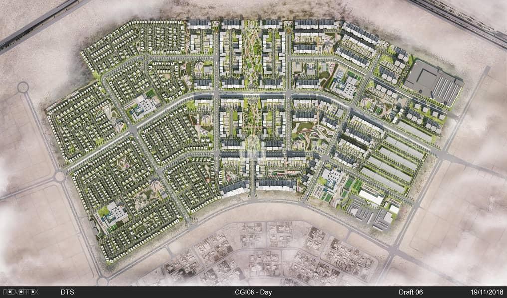 12 Good Size Residential Plot In Al Reeman1| Shamkha