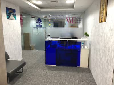Office for Rent in Deira, Dubai - LICENSE RENEWAL WITH FULL OFFICE & ISTEDAMA/EJARI